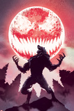 Carnage No.3 Cover, Featuring Carnage and Man-Wolf Metal Print
