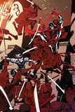 Daredevil No.3 Cover, Featuring Daredevil and Blindspot Posters