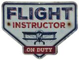 Flight Instructor Blikskilt