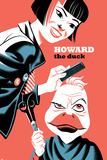 Howard the Duck No.4 Cover, Featuring Tara Tam and Howard the Duck Metal Print