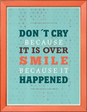 Cry Smile Posters by Maria Hernandez