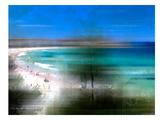 Scenery Art Bondi Beach Giclée-trykk av Melanie Viola