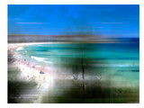 Scenery Art Bondi Beach Prints by Melanie Viola