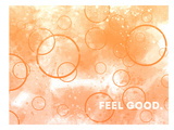 Emotional Art Feel Good Print by Melanie Viola
