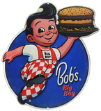 Bob's Big Boy Tin Sign
