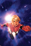 Captain Marvel No.1 Cover Metal Print