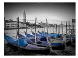 Venice Grand Canal & St Mark's Campanile II Print by Melanie Viola