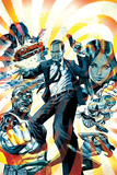 Agents of S.H.I.E.L.D. No.1 Cover, Featuring Phil Coulson, Quake, Deathlok, Mockingbird and More Plastic Sign by Dan Panosian