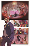 Ms. Marvel No.2 Panel, Featuring Doctor Faustus and Ms. Marvel (Kamala Khan) Photo