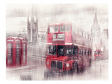 City-Art London Westminster Collage Prints by Melanie Viola