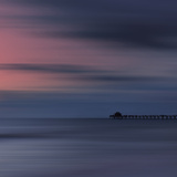 Scenery Art Florida Sunset Naples Pier Giclée-trykk av Melanie Viola