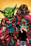 Web Warriors No.2 Cover, Featuring Jackal, Spider-Man, Kaine, Mary Jane Watson and More Posters