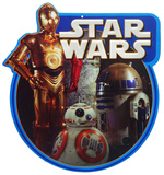 Star Wars Droids Tin Sign