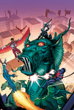 Contest of Champions No.4 Cover, Featuring Falcon, Black Panther, Fin Fang Foom, Torpedo and More Posters