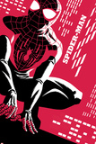 Spider-Man No.1 Cover, Featuring Ultimate Spider-Man Morales Metal Print
