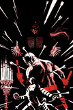 Daredevil No.2 Cover, Featuring Tenfingers, Daredevil and Blindspot Poster