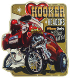 Hooker Headers Tin Sign