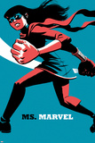 Ms. Marvel No.4 Cover, Featuring Ms. Marvel (Kamala Khan) Photo