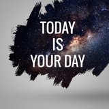 Motivational Quote at Deep Space Background. Artistic Design For Prints by  Vadimsadovski