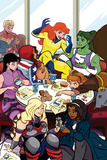 Patsy Walker, A.K.A. Hellcat! No.2 Cover, Featuring Captain Marvel, Ms. Marvel and More Photo