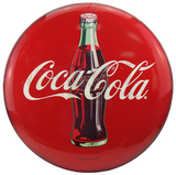 Coca Cola Dome Sign Tin Sign