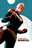 Captain Marvel No.2 Cover Plastic Sign