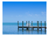 Florida Keys Quiet Place - Panoramic View Posters by Melanie Viola