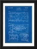 Pinball Machine Patent Poster