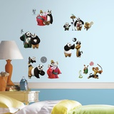 Kung Fu Panda 3 Peel and Stick Wall Decals Wall Decal