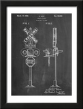 Railroad Crossing Signal Patent Prints