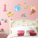 Disney Princess Friendship Adventures Peel and Stick Wall Decals Wall Decal