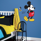 Mickey Mouse Peel and Stick Giant Wall Decals Wall Decal