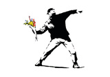 Flower Chucker Giclee Print by  Banksy