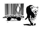 Barcode Wydruk giclee autor Banksy