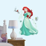 Disney Sparkling Ariel Peel and Stick Giant Wall Decals Wall Decal