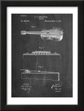 Acoustic Guitar Patent Posters