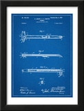 Vintage Claw Hammer Patent 1899 Poster