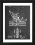 Dentists Chair Patent 1886 Prints
