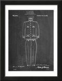 Military Uniform Patent Prints