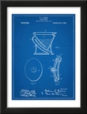 Water Closet Patent Poster