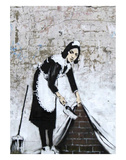 Chamber Maid Art by  Banksy