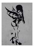 Amy Giclée-tryk af Banksy