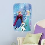 Frozen Magic Peel and Stick Giant Wall Graphic Wall Decal