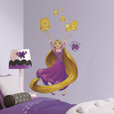 Disney Sparkling Rapunzel Peel and Stick Giant Wall Decals Wall Decal