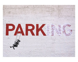 Parking Kunstdruck von  Banksy