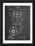 Vintage Coffe Pot Patent Prints
