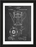 Vintage Coffe Pot Patent Prints