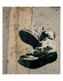 Boots Art by  Banksy