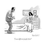 """I was different people then!"" - New Yorker Cartoon Premium Giclee Print by Liam Walsh"