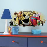 Kung Fu Panda 3 Friends Peel and Stick Giant Wall Graphic Wall Decal